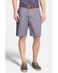 Bills Khakis | Purple 'parker' Standard Fit Flat Front Island Twill Shorts for Men | Lyst