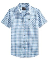 Hurley | Gray Robbie Shirt for Men | Lyst