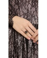 Heather Hawkins | Metallic Splendor Spike Cut Ring | Lyst