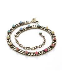 Lionette | Multicolor Nico Choker, Or Wrap Bracelet | Lyst