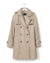 Banana Republic | Natural Double-breasted Trench | Lyst