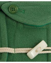 YMC | Green Duffle Coat | Lyst