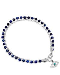 Astley Clarke | Royal Blue Evil Eye Biography Bracelet | Lyst