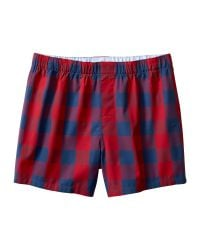 Banana Republic | Red Buffalo Check Boxer for Men | Lyst