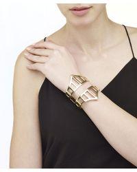 Arme De L'Amour   Metallic Double Warrior Bracelet   Lyst