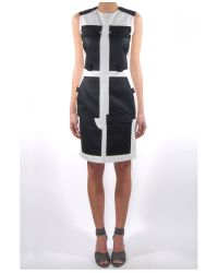 Alexander Wang - Black Cargo Dress With Webbing Detail - Lyst