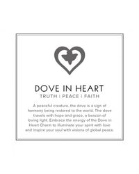 ALEX AND ANI - Metallic Dove in Heart Two Tone Mini Expandable Wire Ring Precious Metal Collection - Lyst