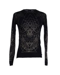 John Richmond | Black Jumper for Men | Lyst