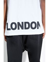 Forever 21 | White Boy London Vented Tee for Men | Lyst