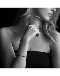 David Yurman - Black & Gold Cable Bracelet - Lyst