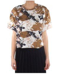 Rag & Bone - Multicolor Remsen Cropped Top - Lyst