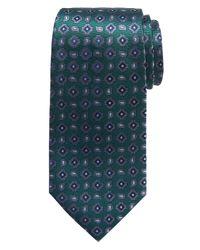 Banana Republic | Green Paisley Silk Tie for Men | Lyst