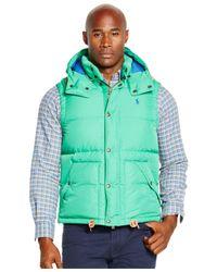 Polo Ralph Lauren - Green Big And Tall Elmwood Down Vest for Men - Lyst