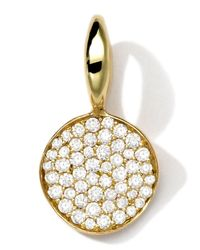 Ippolita | Metallic 18k Gold Small Charm With Diamonds | Lyst