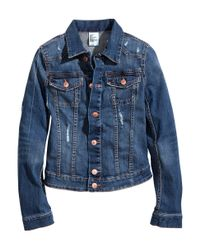 H&M - Blue Denim Jacket for Men - Lyst