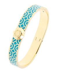 Trina Turk | Blue Patterned Bangle Bracelet | Lyst