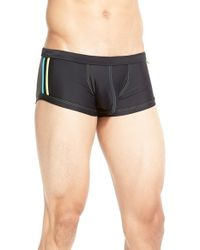 Andrew Christian - Black 'almost Naked - Triathlon' Swim Trunks for Men - Lyst