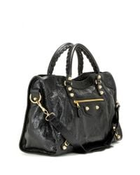 Balenciaga - Black Giant 12 City Leather Tote - Lyst