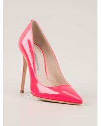 f5feabbded5f Gianmarco Lorenzi Classic Pumps in Pink - Lyst