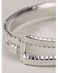 Eddie Borgo - Metallic Zip Bangle Bracelet - Lyst