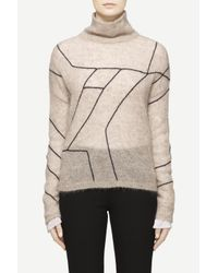 Rag & Bone | Natural Sonya Turtleneck | Lyst