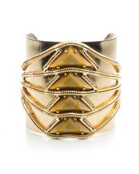 DANNIJO | Metallic Elsa Cuff | Lyst