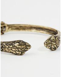 ASOS | Metallic Snake Bracelet for Men | Lyst