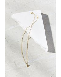 Urban Outfitters - Green Isla Charm Necklace - Lyst