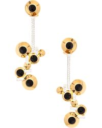 Lara Bohinc | Black 'eye' Drop Earrings | Lyst