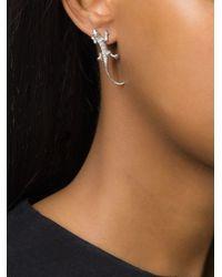 Wouters & Hendrix   Metallic Salamander Diamond Earring   Lyst