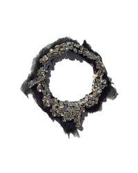 Mignonne Gavigan | Alice Necklace Black Chiffon | Lyst