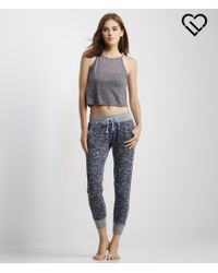 Live Love Dream | Gray Lld Slub High-neck Cropped Tank | Lyst