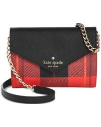 kate spade new york | Red Fairmount Square Monday Crossbody | Lyst