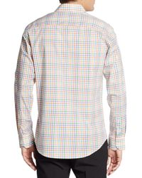Bugatchi | Multicolored Check Cotton Sportshirt for Men | Lyst