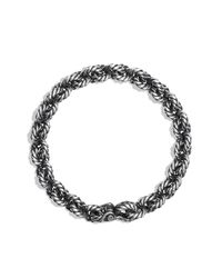David Yurman | Metallic Cable Link Bracelet, 11mm for Men | Lyst