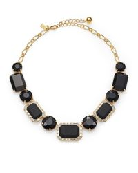 kate spade new york | Black Jackpot Jewels Necklace | Lyst