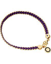Astley Clarke | Purple Violet Berry Cosmos Stones Bracelet | Lyst