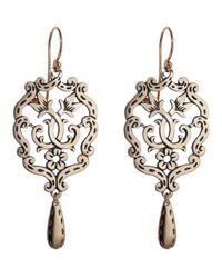 Laurent Gandini - Metallic Little Chandelier Earring - Lyst