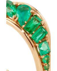 Fernando Jorge | Green Stream Wave Ring In Emeralds | Lyst