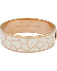 Halcyon Days | Pink Giraffe Bangle - For Women | Lyst