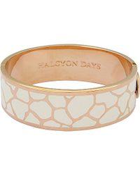 Halcyon Days - Pink Giraffe Bangle - For Women - Lyst