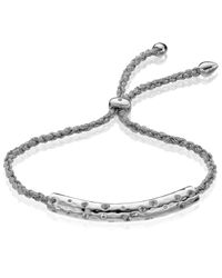 Monica Vinader - Metallic Esencia Scatter Friendship Bracelet - Lyst