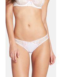 Skarlett Blue | White 'honey' Bikini | Lyst