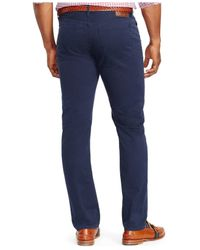 Polo Ralph Lauren | Blue Big And Tall Classic-fit Twill Pants for Men | Lyst