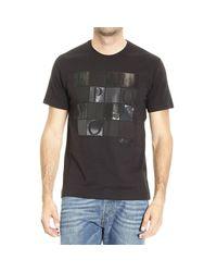 Emporio Armani - Black T-shirt for Men - Lyst
