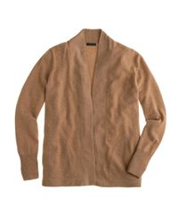 J.Crew - Natural Collection Cashmere Long Open Cardigan Sweater - Lyst