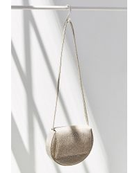 Silence + Noise - Natural Structured Moon Crossbody Bag - Lyst