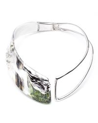 Alexis Bittar | Green Punk Safari Collar | Lyst