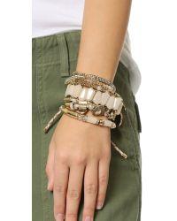 Samantha Wills - Natural Southern Sun Bracelet Set - Cream - Lyst