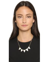 Adia Kibur - Metallic Carrie Necklace - Gold - Lyst